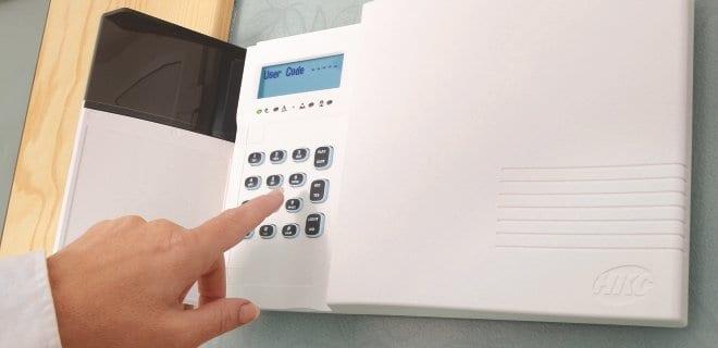 Alarm System Using Radio Waves